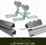 Verschiebbare Laufwerke für PVC Lamellenvorhänge