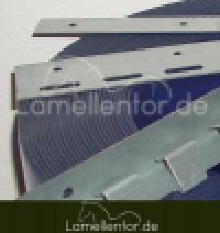 Bausatz Einzelteile für Lamellenvorhang