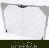 PVC - Platten für Falttor 3mm