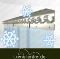 PVC Streifen für Kühlraum 400x4mm pro Meter