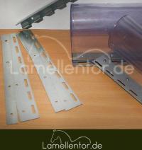 Bleche für Lamellenvorhang 300mm
