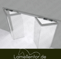Falttorplatte PVC transparent 7mm