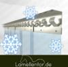 Tiefkühl PVC Lamellenvorhang 2,00m Breite x 2,00m Länge