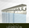 PVC Lamellenvorhang 2,50m Breite x 3,00m Länge