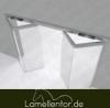 PVC -  Falttor Platten für Kühlräume 7mm