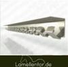 Hakenleiste 984mm für 1,00 Meter aus Edelstahl